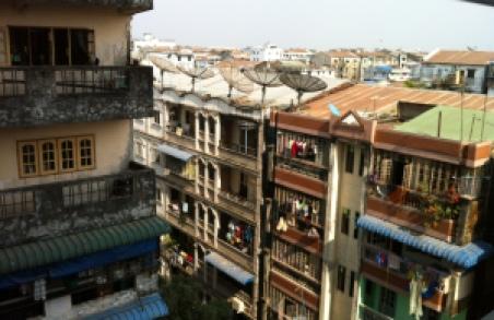 façade Birmanie